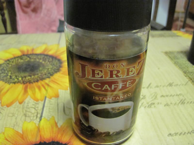 ユーロスピンで購入、100gで1.75ユーロのインスタントコーヒー。