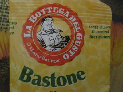 ユーロスピンのオリジナル精肉加工商品のLA BOTTEGA DEL GUSTOのロゴ。