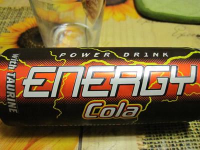 ユーロスピン Power Drink ENERGY Cola味を飲んでみる。