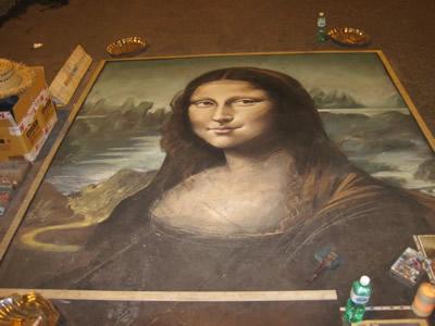 マドンナーロ 路上に描かれたモナリザ