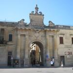 【観光】レッチェLecce観光スポット その1 Porta San Biagio
