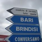 【自転車旅行】イタリア自動車専用道を回避するViabiltia di servizio。