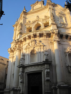 San Matteo Church サン・マテオ教会 レッチェ。