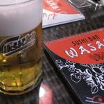 【モンテネグロ】バールBarにある日本食レストランWASABI。