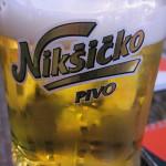 【モンテネグロ】モンテネグロのビール、Nikšićkoを飲んでみる。
