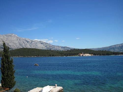 クロアチア コルチュラ島