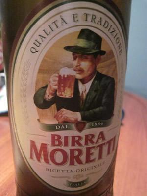 イタリア有名ビールモレッティMORETTI