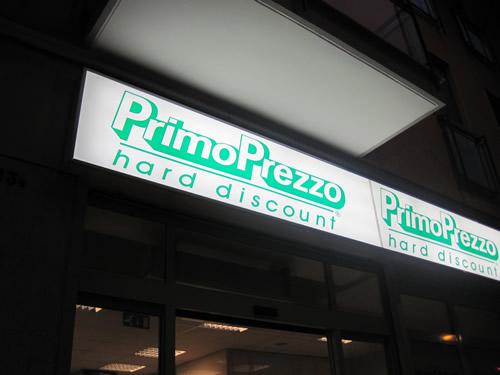 ディスカウント系スーパー PRIMO PREZZO