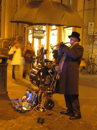 トランペット演奏者