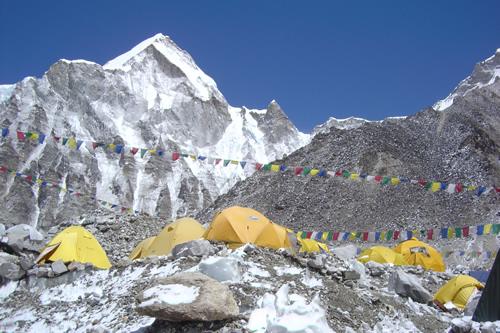 エベレストベースキャンプ