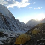 【エベレスト登山】キャンプ2からの眺め