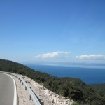 【自転車旅行】コルチュラ島 Vela Luka から Korcula 走行
