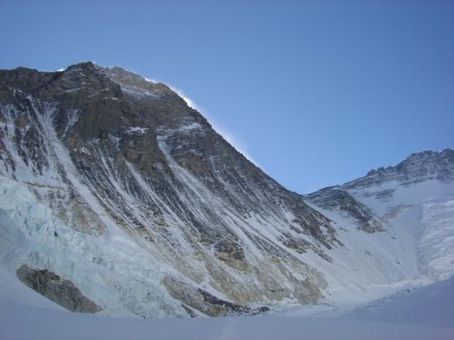【写真】エベレスト南西壁。