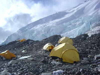 【写真】キャンプ2の様子。