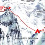 【エベレスト登山】図解+写真でエベレスト南東稜登山。その6 キャンプ4から山頂。