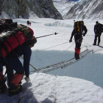 【エベレスト登山】図解+写真でエベレスト南東稜登山。その3 キャンプ1からキャンプ2。