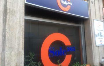 Sole365の看板