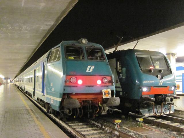 【写真】鈍行電車でもナポリまで3時間