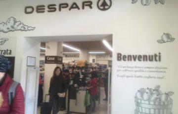 【写真】スーパーマーケットDESPAR