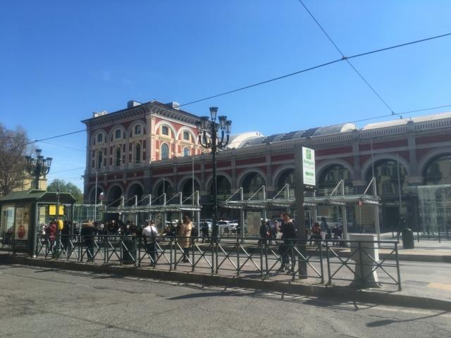 【写真】トリノの主要駅TORINO PORTA NOVA