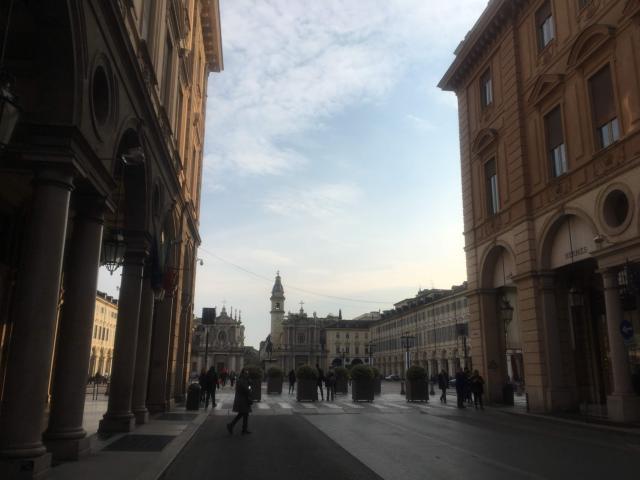 見どころ満載トリノの街