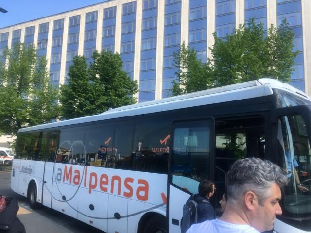 マルペンサ空港行バス