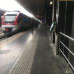 テルミニ駅とフィウミチーノ空港を結ぶレオナルドエクスプレス