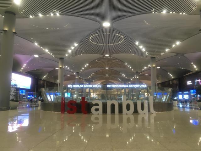 【写真】2019年4月から利用されているイスタンブール新空港