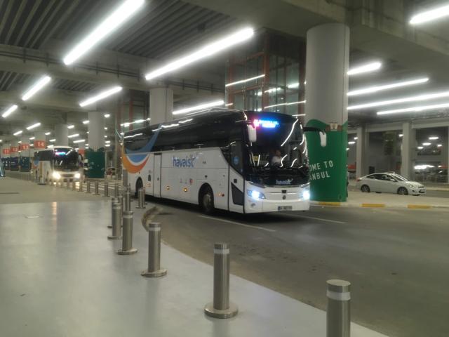 【写真】havaistバスは目的地ごとに向かう